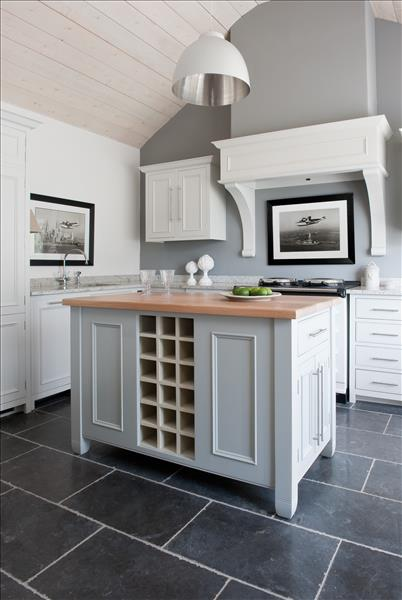6 The beautiful and versatile Neptune Chichester kitchen island has shelving, drawers & cabinets with a solid oak worktop