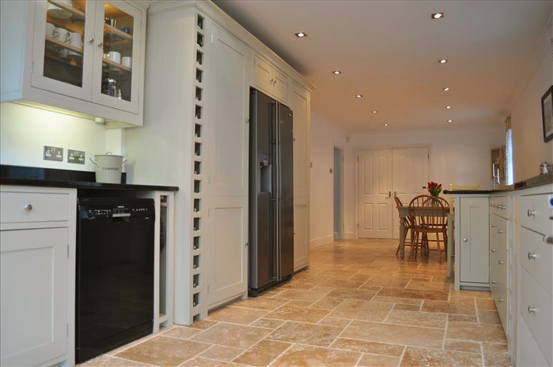 13 Full Height Larder Cabinets Provide Ample Storage Space And Look Stunning Wither Side Of An